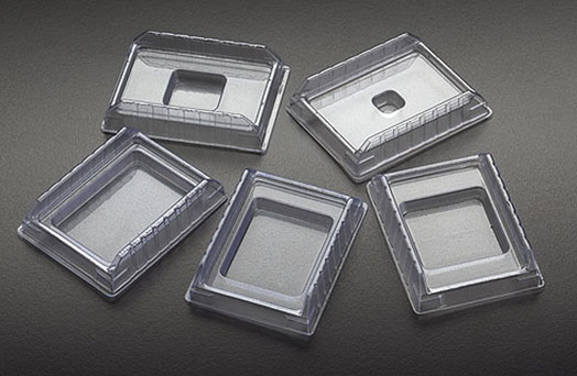Histology Supplies, Disposable PVC Base Molds for Processing/Embedding Cassettes