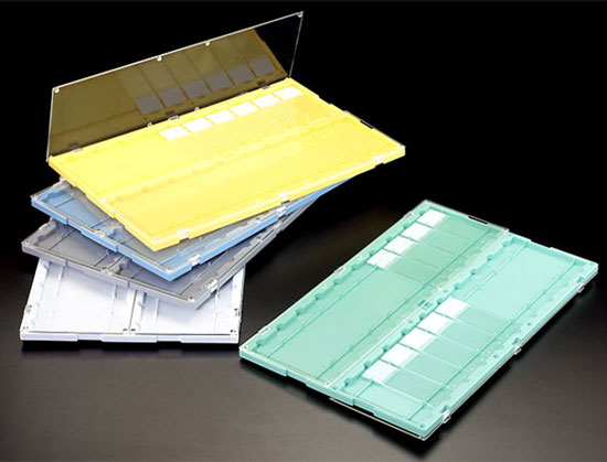Microscopy Supplies, Styrene Slide Storage Trays