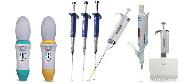 Manual Pipette Controllers