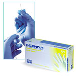 Chemistry Supplies, Powder Free Blue Nitrile Disposable Gloves