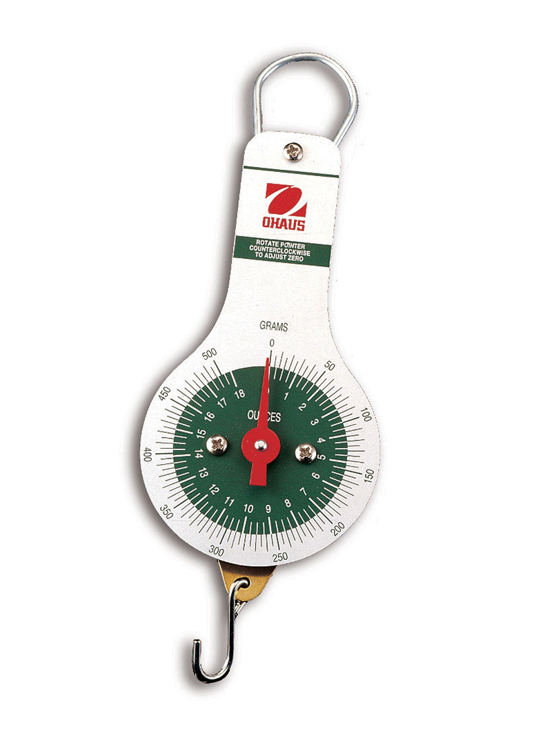 Ohaus Scales, Spring Scales, Dial Type Spring Scale