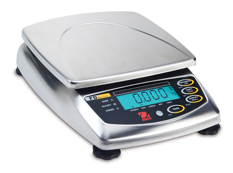 Ohaus Scales, Digital Scales, FD Series Food Portioning Scales