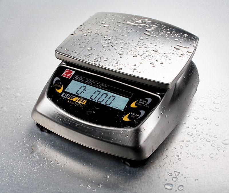 Portable Scales, Valor 3000 Xtreme Portable Washdown Balances