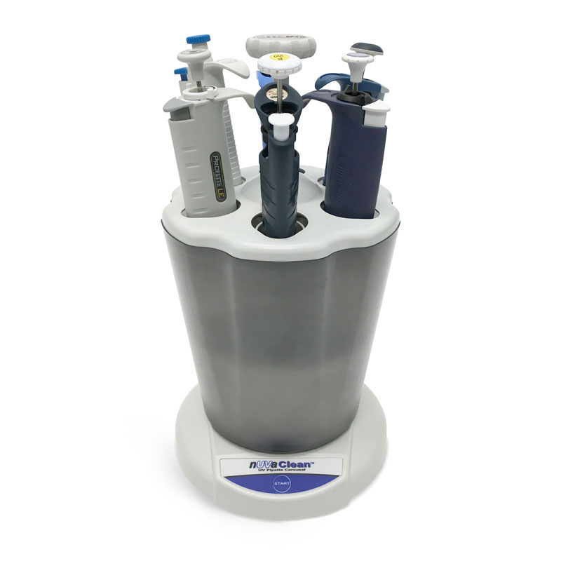 Laboratory Equipment, Propette Nuvaclean™ Uv Pipette Carousel w/ Germicidal Uv Lamp