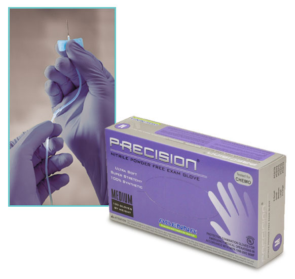 Nitrile Gloves, Violet Nitrile Gloves, Powder Free