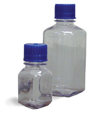 Polycarbonate Plastic Laboratory Bottles