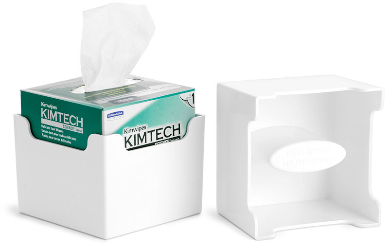 Push-Up Box Kimwipes Dispenser
