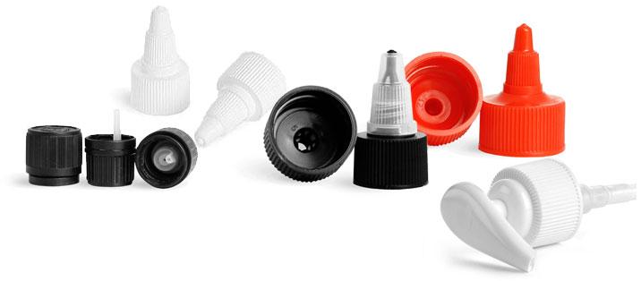 Plastic Dispensing Caps
