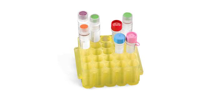 Test Tube Racks, UniRack Jr. Plastic Test Tube Racks