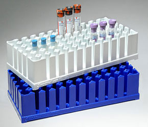 Smoothrack Plastic Test Tube Racks