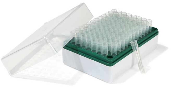Test Tube Rack, Biotube™ Storage Rack w/ 1.2 ml Individual Tubes, Sterile