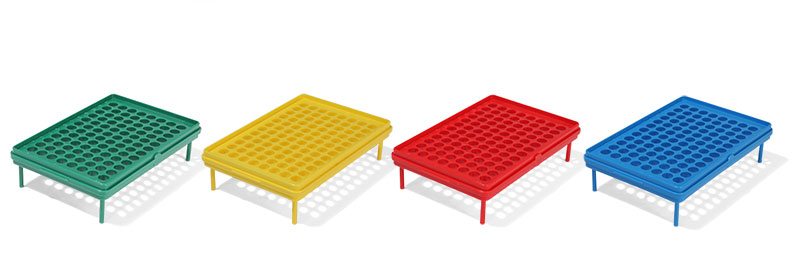 Test Tube Rack, Biotube™ Storage Rack, Grid Plates