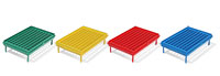 Test Tube Rack, Biotube™ Storage Rack - Red Grid
