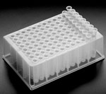 Cell Culture Plates, BioBlock™ 96-Well Microtitration Plates w/ Conical Bottom Wells & Tube Strips