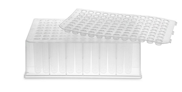 BioBlock™ 96-Well Color-Coded Deep Well Microtitration Plates w/ 1.2 ml Round Bottom Wells