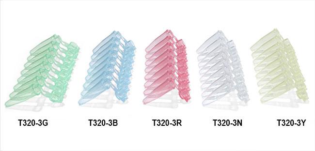 Test Tubes, PCR Tubes w/ Dome Plastic Caps