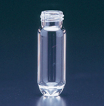 Glass Lab Vials, Clear Glass High Recovery Vials w/ No Caps Included