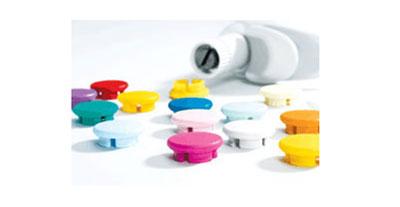 Pipette Accessories, Color-Coded Smartie Caps for Acura Pipettes