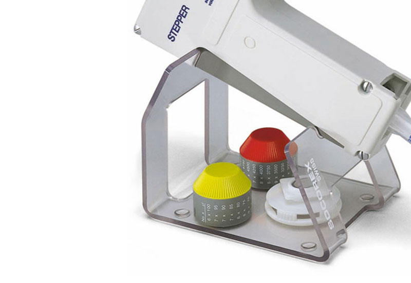 Workstation for Step-Pette Repeater Pipette