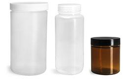 Plastic Laboratory Jars