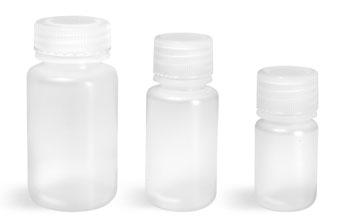 Polypropylene Plastic Laboratory Bottles