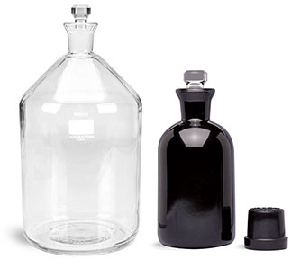 Glass BOD Bottles without Writing Area