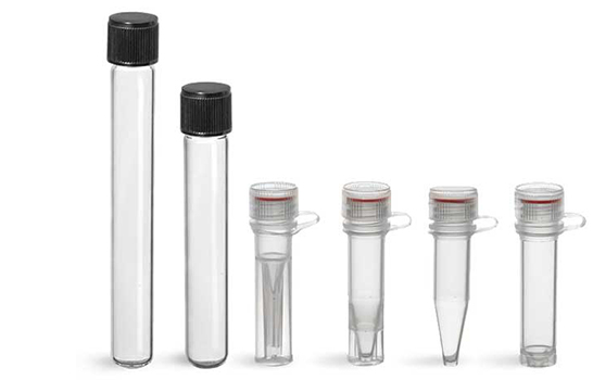 Product Spotlight - Plastic and Glass Test tubes