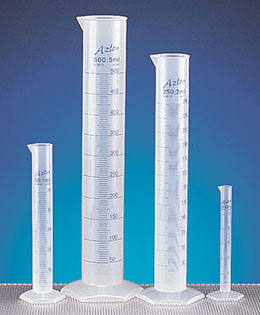 Polypropylene Plastic Graduated Cylinders