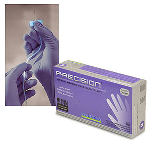 Precision Violet Nitrile Gloves